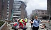 Criminal atentado hoy VIERNES, en OSLO (Europa)